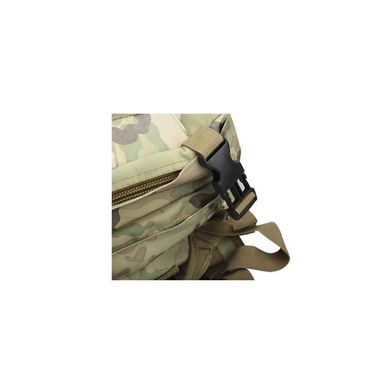 Военный трекинговый рюкзак MOLLE: нейлон 800D, водоотталкивающее покрытие, дополнительные сумки 189212
