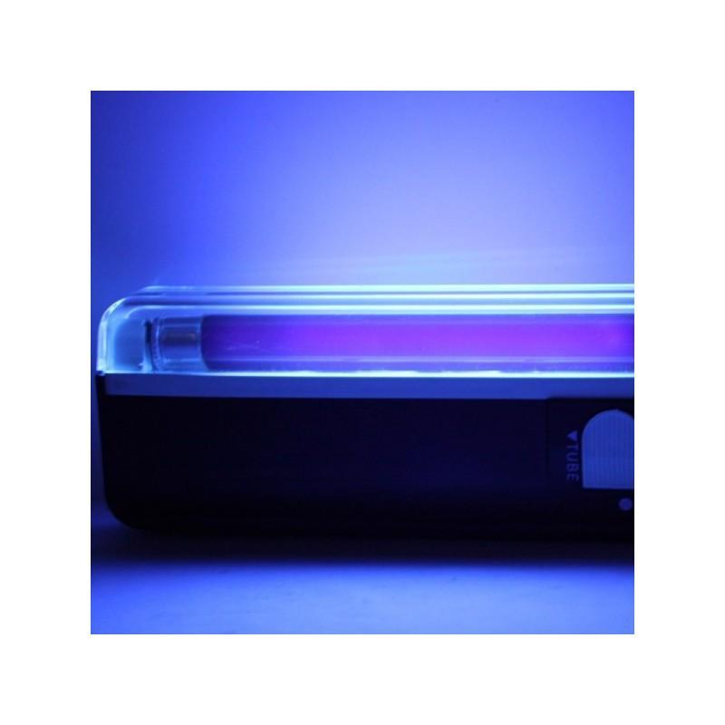 Портативная ультрафиолетовая лампа для проверки водяных знаков (деньги, документы, паспорта) + фонарик 189228
