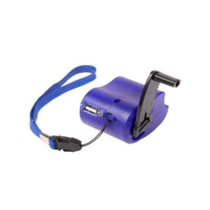 Зарядное устройство для телефона с ручным генератором (динамо зарядка)