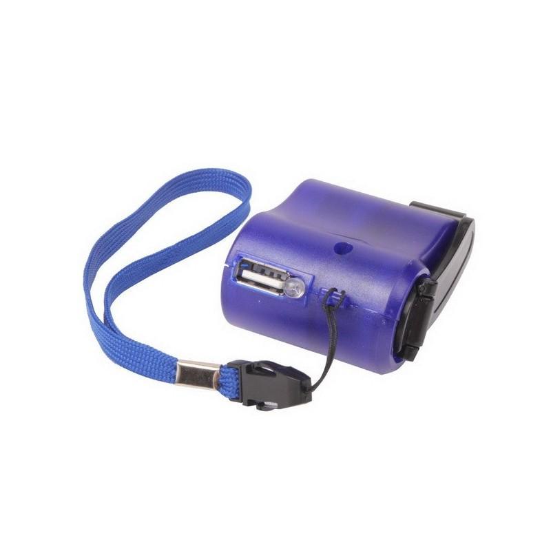 Зарядное устройство для телефона с ручным генератором (динамо зарядка) 189242