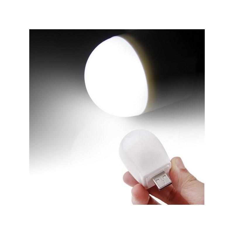 Светодиодная USB-лампа белого цвета