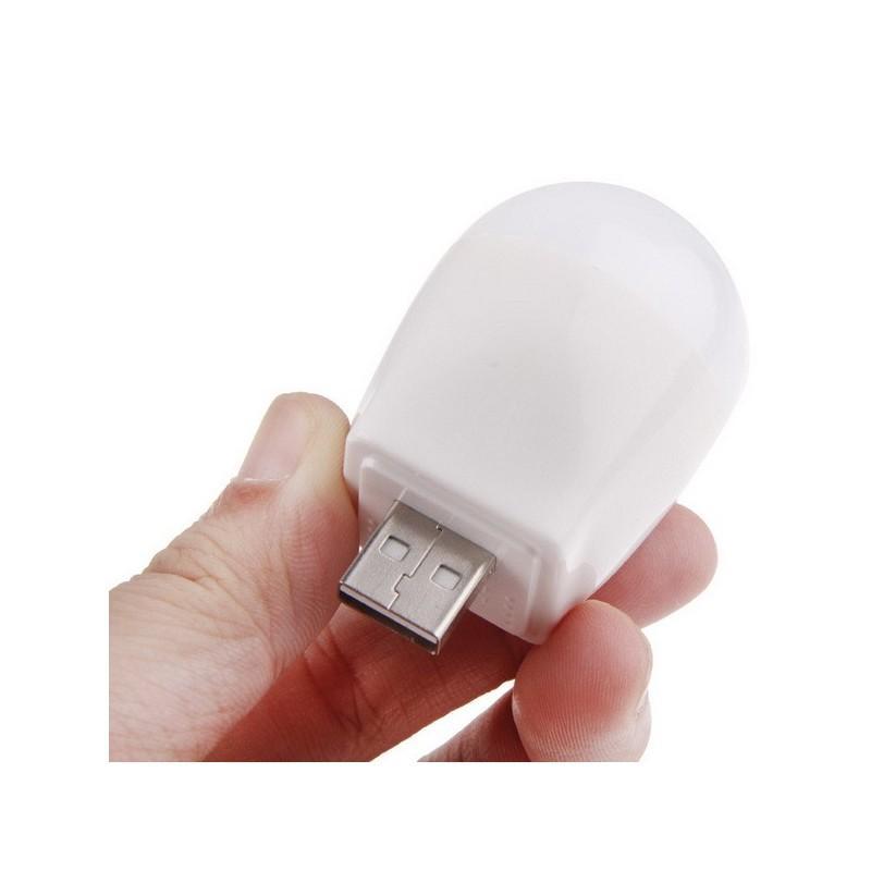 Светодиодная USB-лампа белого цвета 189272