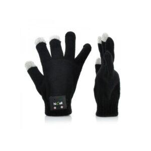 Теплые перчатки-гарнитура для смартфона (микрофон+динамик, подключение по Bluetooth)