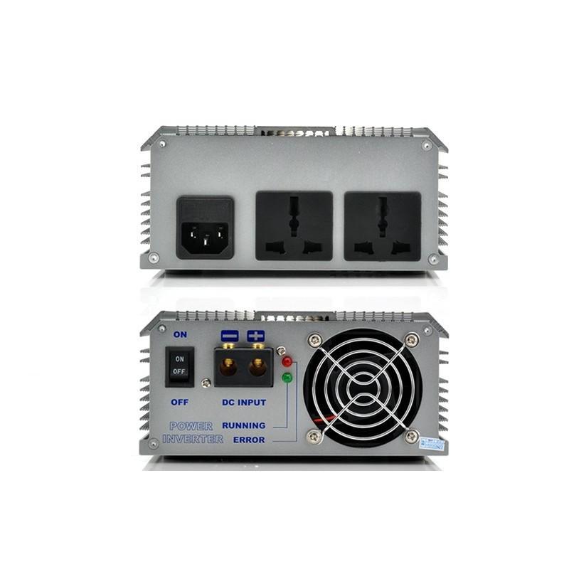 Автомобильный инвертор с DC 12V на AC 220V – мощность 1000 Вт 189292