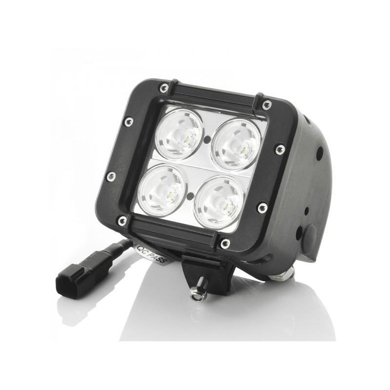 Дополнительная LED-фара LT189 на автомобиль: светодиоды CREE XB-D (4 шт), 2800 люмен, водонепроницаемая (IP65)
