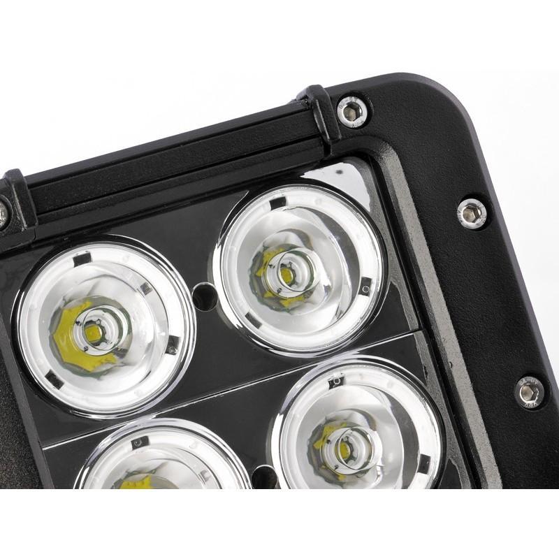 Дополнительная LED-фара LT189 на автомобиль: светодиоды CREE XB-D (4 шт), 2800 люмен, водонепроницаемая (IP65) 189305