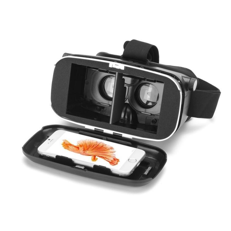 Очки виртуальной реальности 3D VR Overworld – для телефона 3,5-6 дюймов, дистанционное управление по Bluetooth, мягкая подкладка 189321