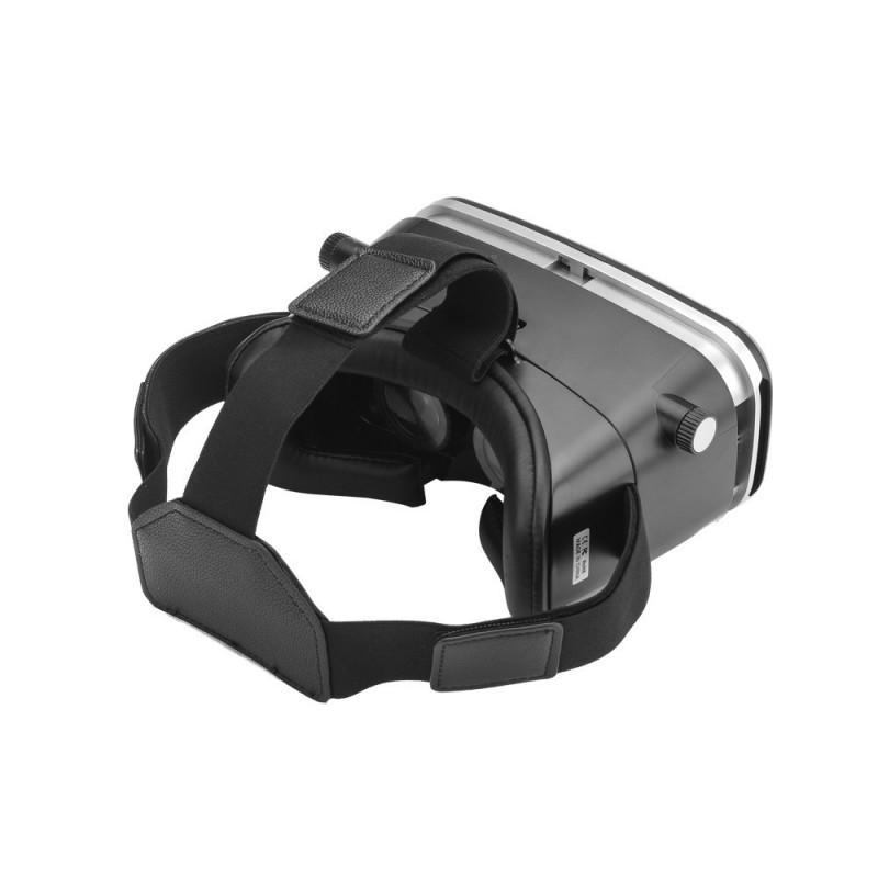 Очки виртуальной реальности 3D VR Overworld – для телефона 3,5-6 дюймов, дистанционное управление по Bluetooth, мягкая подкладка 189324