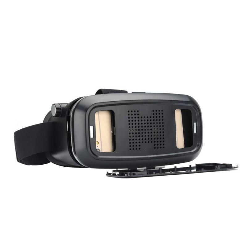 Очки виртуальной реальности 3D VR Overworld – для телефона 3,5-6 дюймов, дистанционное управление по Bluetooth, мягкая подкладка 189329