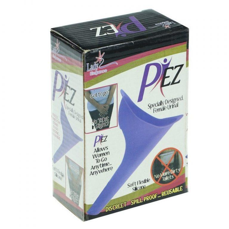 7580 - Женский писсуар Pez (воронка-писсуар, лейка) - многоразовый, силикон
