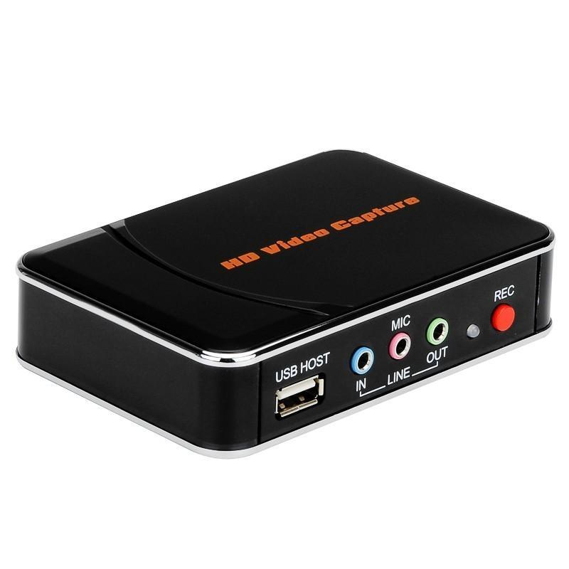 Устройство видеозахвата In Da Game – HD 1080p, USB, HDMI, компонентный вход