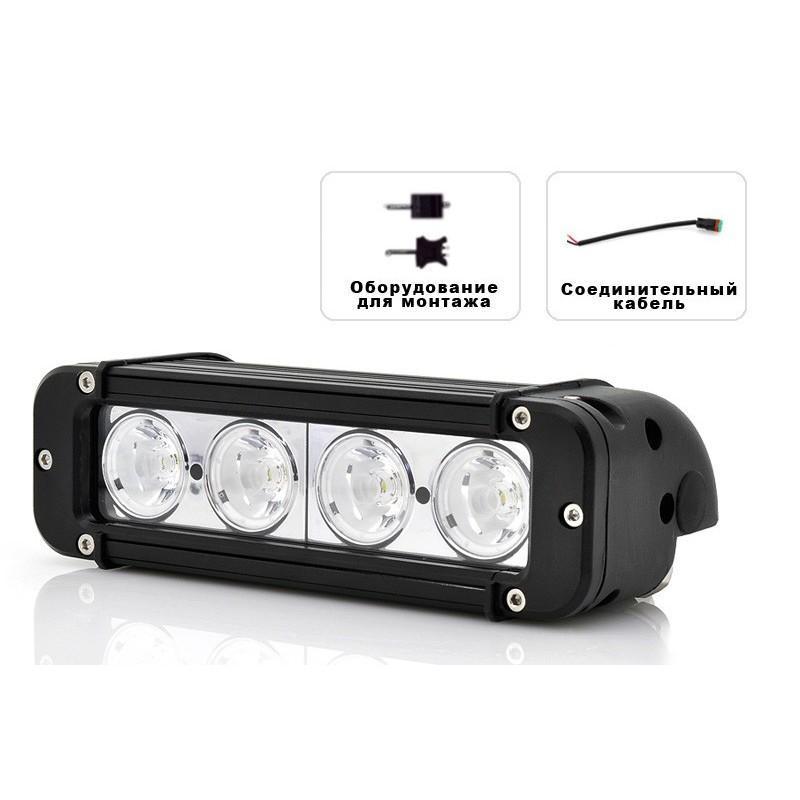 LED-прожектор LT187 на автомобиль (светодиоды CREE, 40 Ватт, 3440 люмен, водонепроницаемый) 189392