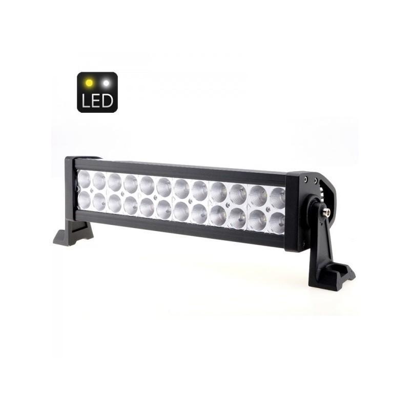 Светодиодный прожектор LT252 на автомобиль (24 Epistar LED, яркость 4300 люмен)