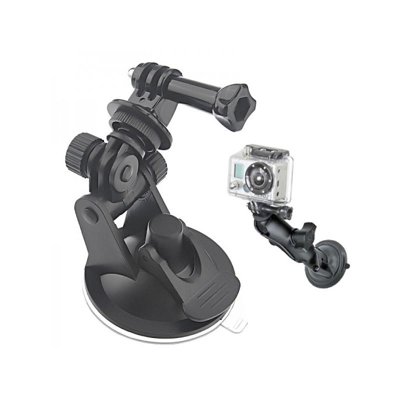 Крепление для камеры GoPro в машину (присоска, стандартный винт 1/4″)