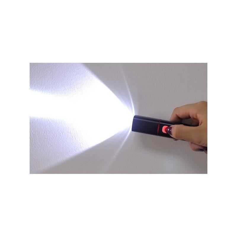Светодиодный фонарь с аккумулятором G539 – CREE, 250 лм, батарейка 2200 мАч, USB 189837
