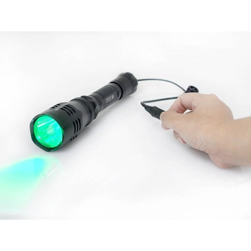 Водонепроницаемый фонарик G494 – CREE R5 (зеленый свет, яркость 260 люмен) 189862