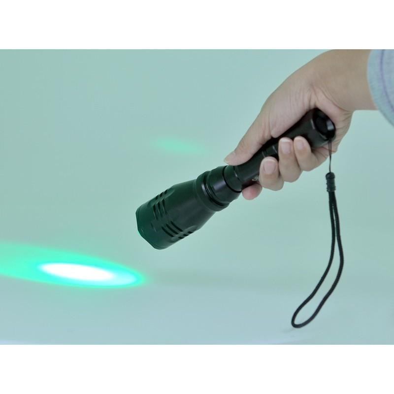 Водонепроницаемый фонарик G494 – CREE R5 (зеленый свет, яркость 260 люмен) 189864