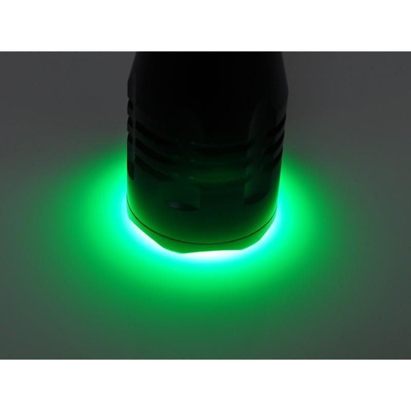Водонепроницаемый фонарик G494 – CREE R5 (зеленый свет, яркость 260 люмен) 189868