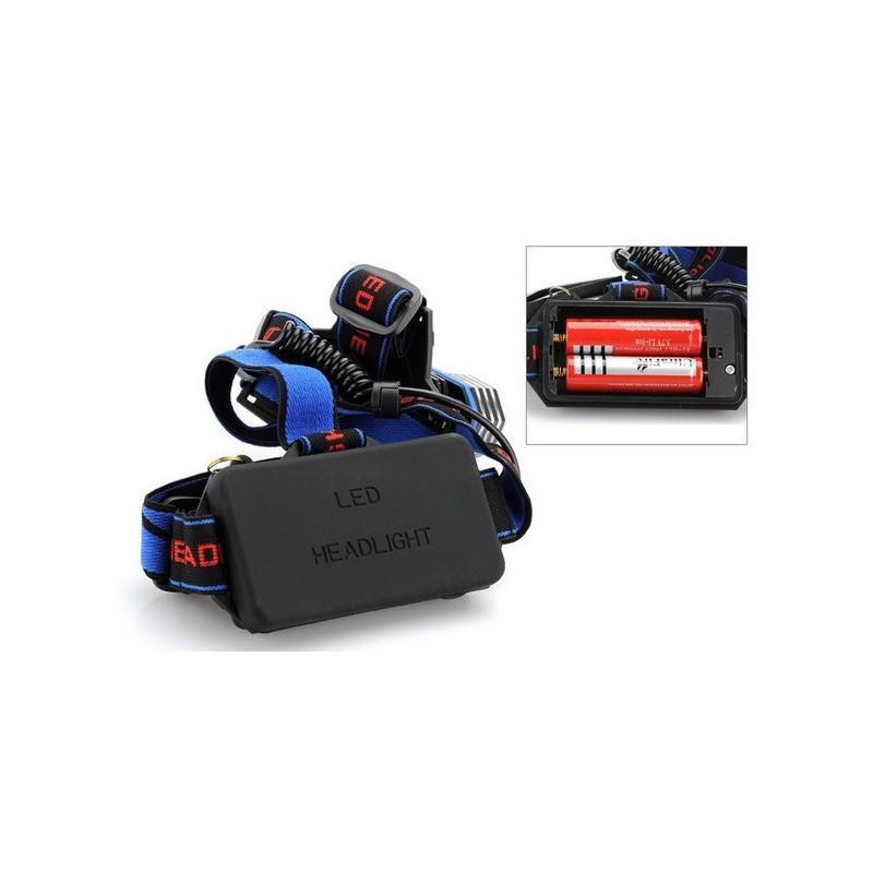 Налобный светодиодный фонарь LT242 – 2 светодиода CREE XM-L T6, 1600 лм, 4 режима, USB 189874