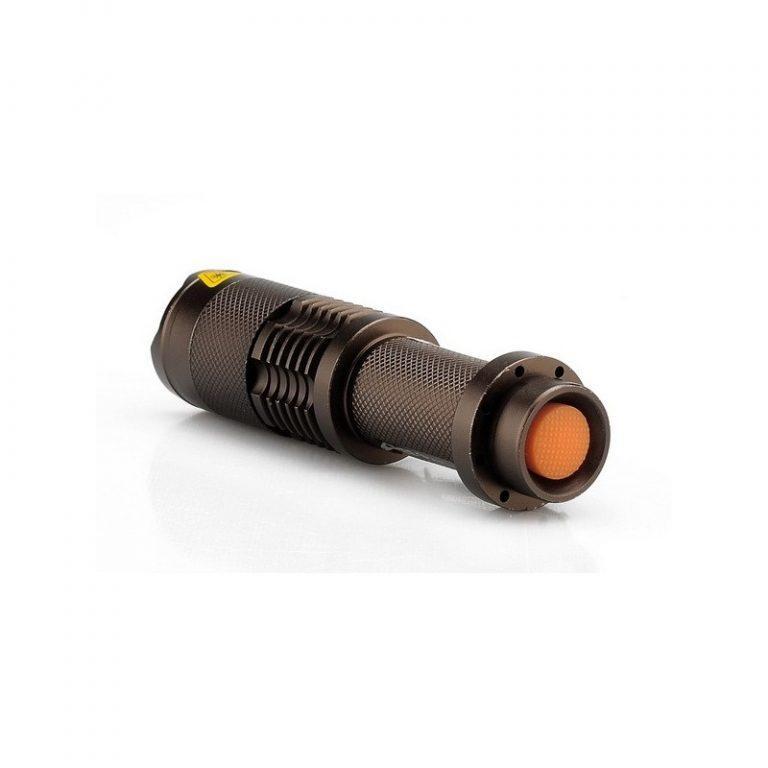 8283 - Светодиодный мини-фонарь LT243 - CREE XML T6, 1200 лм, водонепроницаемый, 5 режимов