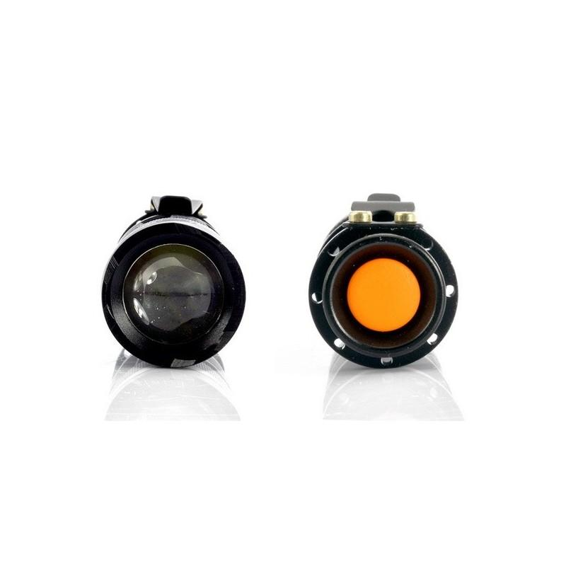 Светодиодный мини-фонарь G466 – CREE, 360 лм, металлический корпус 189888