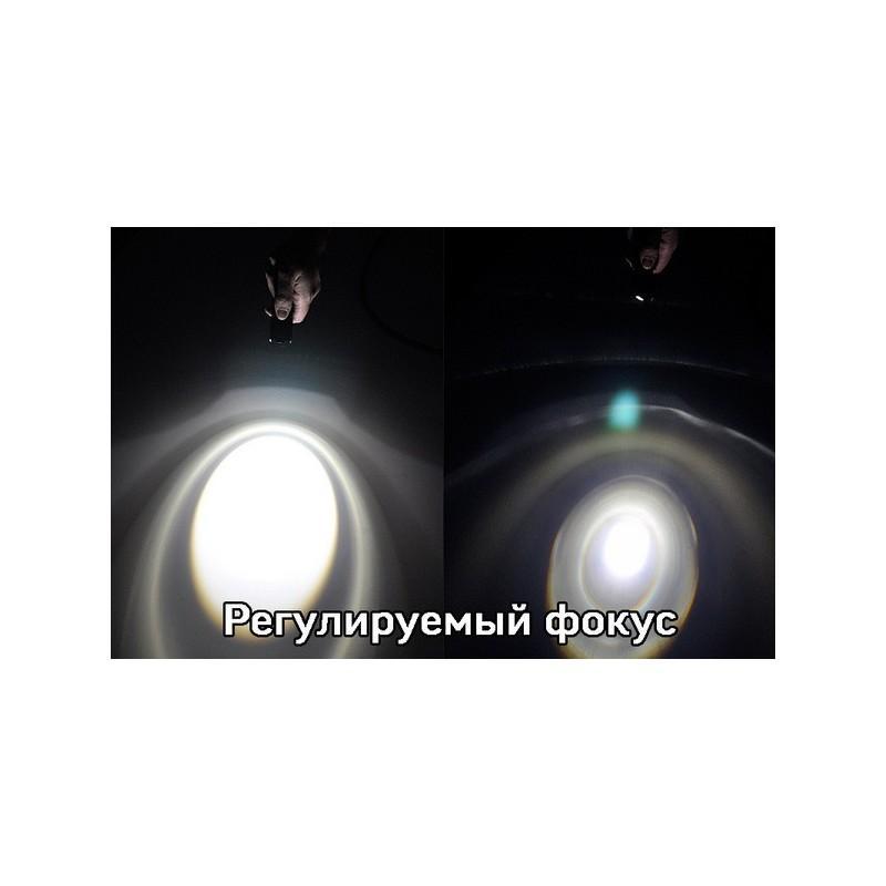 Светодиодный мини-фонарь G466 – CREE, 360 лм, металлический корпус 189893