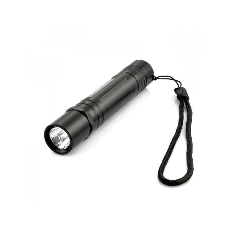Металлический водонепроницаемый фонарик G491 CREE (XML U2, яркость 550 люмен, крепление для велосипеда) 189896
