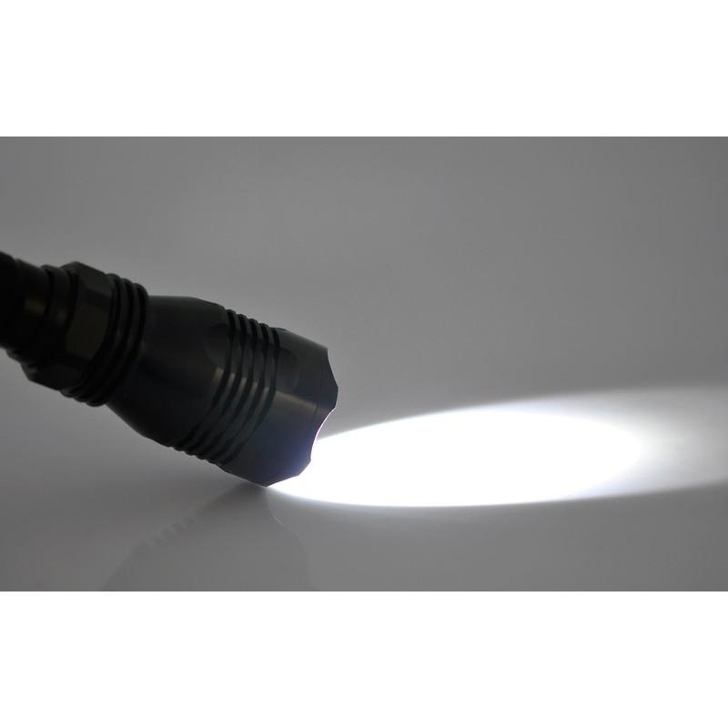 Фонарь G490 со светодиодом CREE XML U2: яркость 550 люмен, расстояние освещения до 500 м (водонепроницаемый) 189908