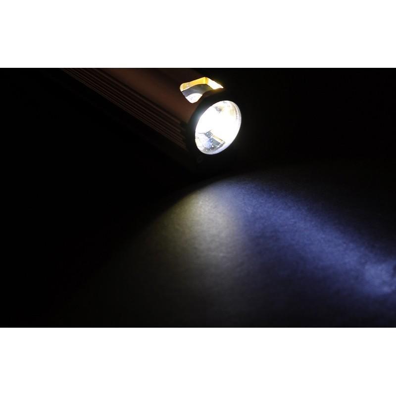 Мощный фонарик A374 на 5 LED + Power Bank на 2200mAh + зажигалка и открывалка 189932