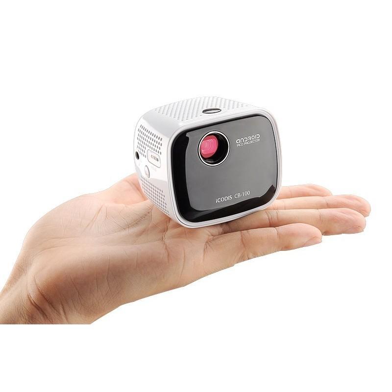 Портативный проектор iCODIS CB-100 DLP – 45 люмен, Android 4.4, 2-ядерный процессор, 854×480, DNLA, Wi-Fi, Bluetooth 189946