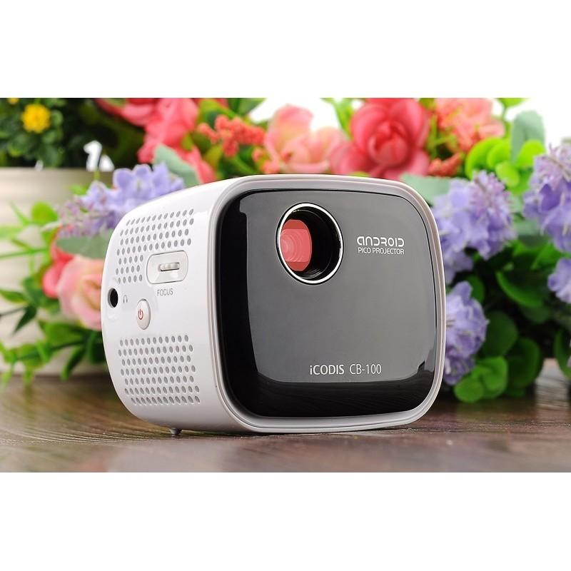 Портативный проектор iCODIS CB-100 DLP – 45 люмен, Android 4.4, 2-ядерный процессор, 854×480, DNLA, Wi-Fi, Bluetooth 189948