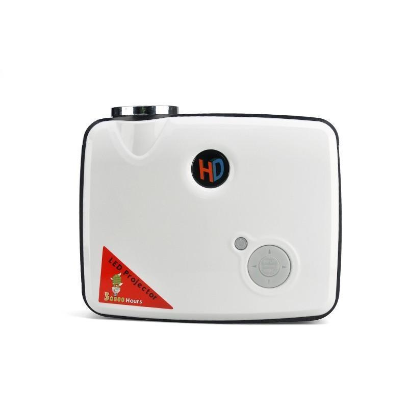 LED видеопроектор Modern teck: TV-тюннер, 2500 ANSI-люмен, 2000:1 контраст, HDMI, VGA, AV, S-Video, 2xUSB 190019