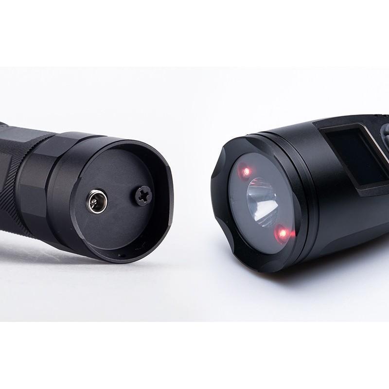 Электронный манок-фонарик для охотников, фотографов и разведчиков (3x CREE XR-E Q5 LED, 110 голосов птиц, MP3, 120dB) 190046