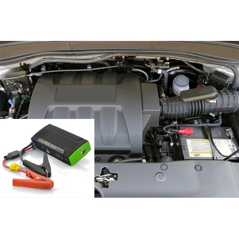 Внешний аккумулятор для ноутбуков, iPad, iPhone, планшетов, телефонов  + пусковое устройство для автомобиля, 12800 мАч, MDA-332 190096