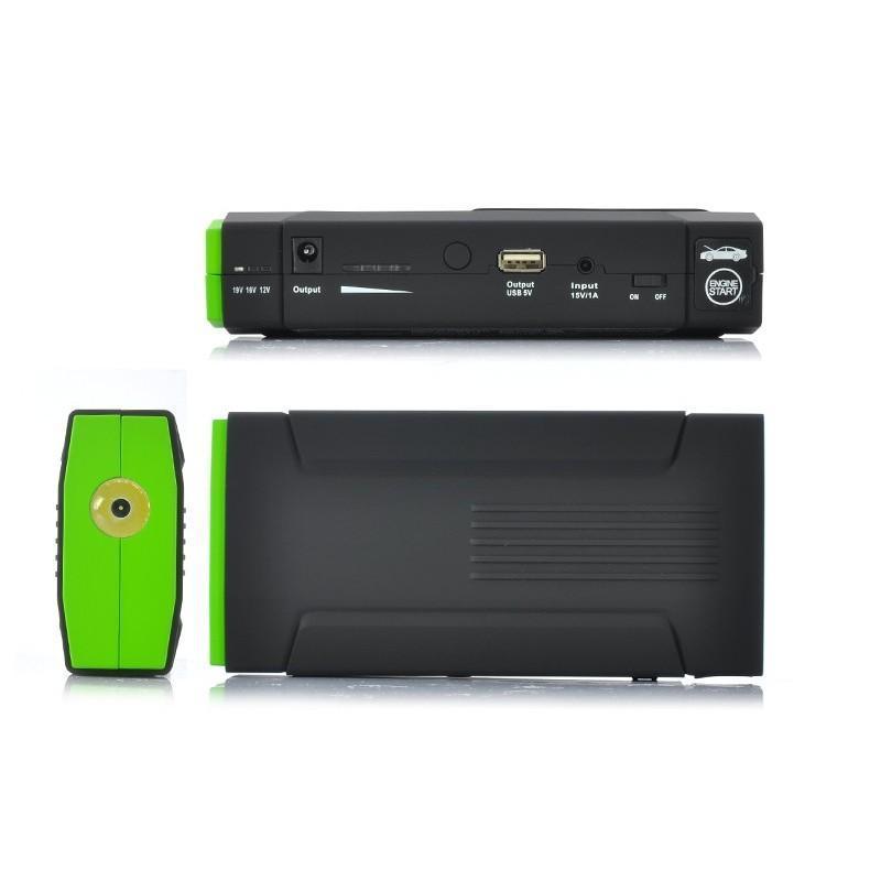 Внешний аккумулятор для ноутбуков, iPad, iPhone, планшетов, телефонов  + пусковое устройство для автомобиля, 12800 мАч, MDA-332 190098