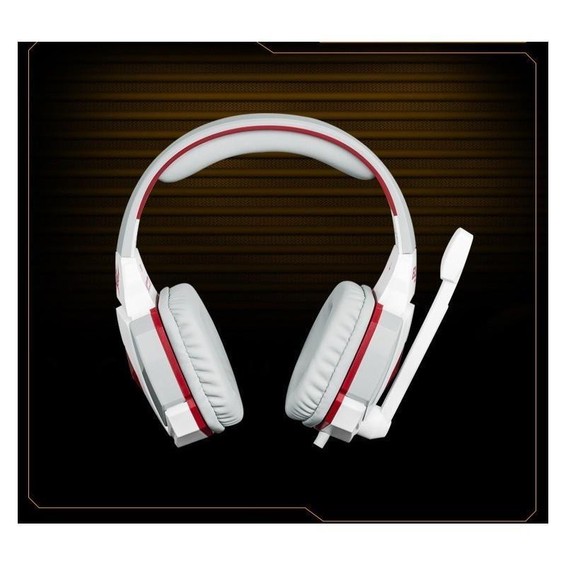 Игровые наушники Flymemo Kotion Each G4000 Pro Gaming с микрофоном, шумоподавление, подсветка, 2.2 м. 185042