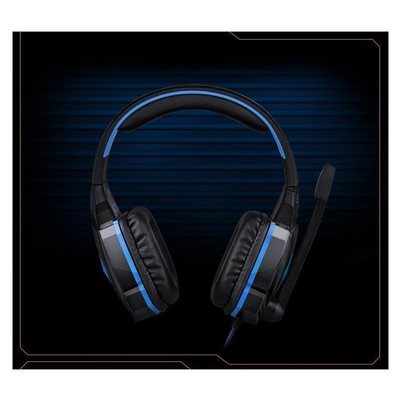 Игровые наушники Flymemo Kotion Each G4000 Pro Gaming с микрофоном, шумоподавление, подсветка, 2.2 м. 185047