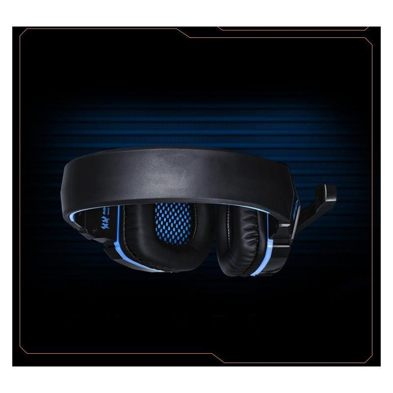 Игровые наушники Flymemo Kotion Each G4000 Pro Gaming с микрофоном, шумоподавление, подсветка, 2.2 м. 185050