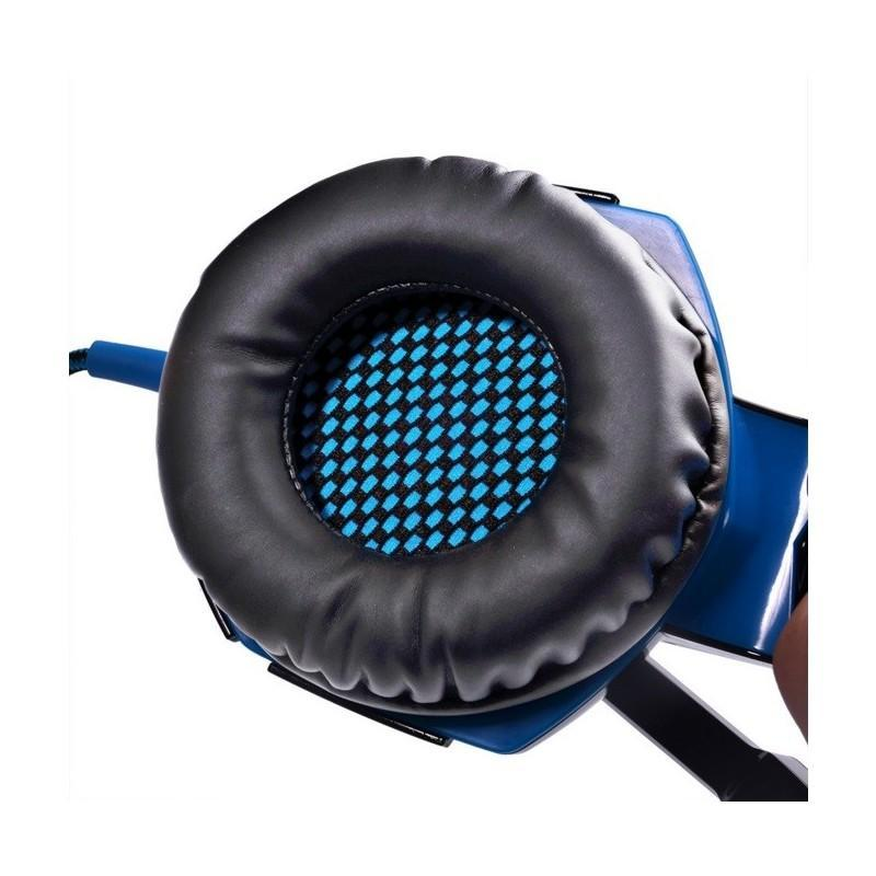 Игровые наушники Kotion Each G2000 Pro Gaming (Original) с микрофоном, шумоподавление, кабель 2.2 м, светодиодная подсветка 185004