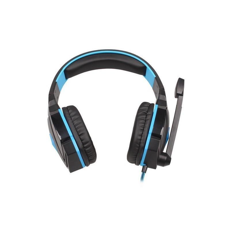 Игровые наушники Flymemo Kotion Each G4000 Pro Gaming с микрофоном, шумоподавление, подсветка, 2.2 м. 185056