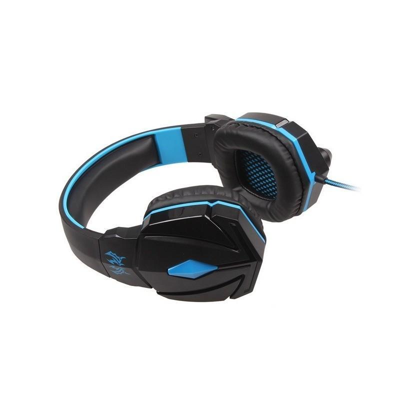 Игровые наушники Flymemo Kotion Each G4000 Pro Gaming с микрофоном, шумоподавление, подсветка, 2.2 м. 185059