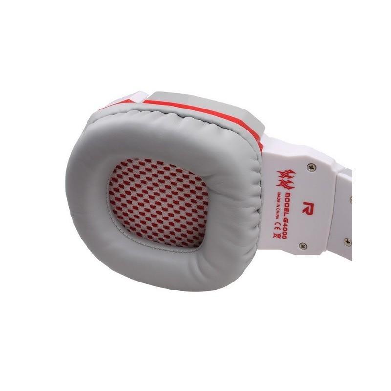Игровые наушники Flymemo Kotion Each G4000 Pro Gaming с микрофоном, шумоподавление, подсветка, 2.2 м. 185064
