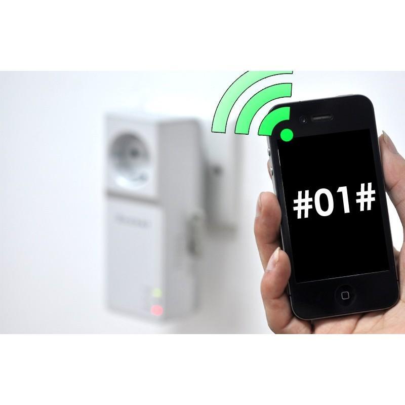 Электророзетка с дистанционным GSM-управлением – 5 пользователей, датчик температуры, евростандарт 190358