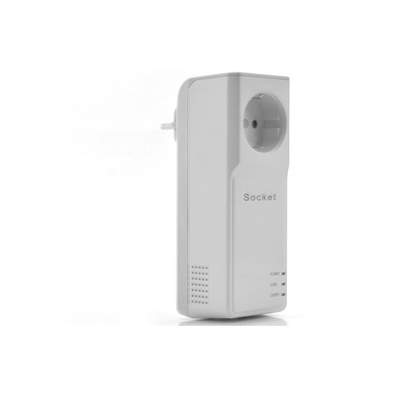 Электророзетка с дистанционным GSM-управлением – 5 пользователей, датчик температуры, евростандарт 190360