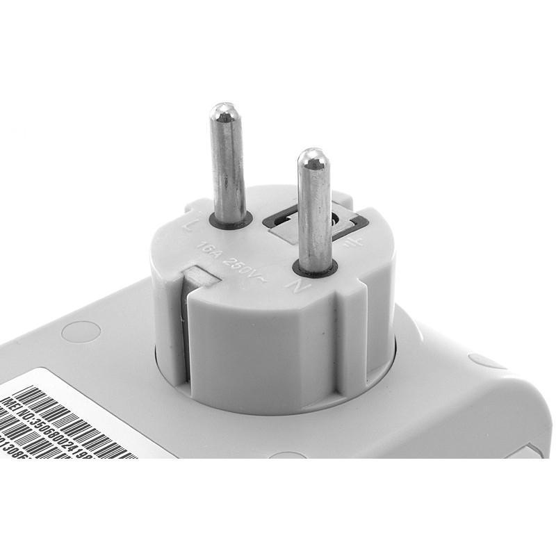 Электророзетка с дистанционным GSM-управлением – 5 пользователей, датчик температуры, евростандарт 190363