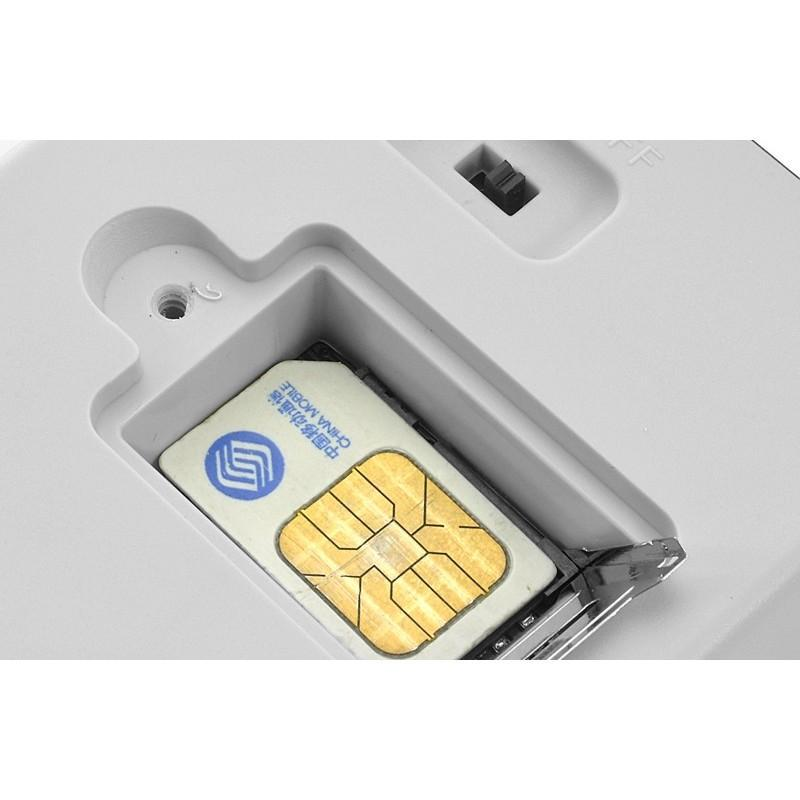 Электророзетка с дистанционным GSM-управлением – 5 пользователей, датчик температуры, евростандарт 190367