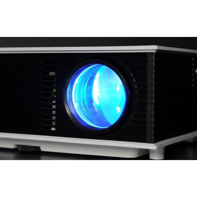LED видео проектор Retro teck – TV-тюннер, 1500 ANSI-люмен, 700:1 контраст, HDMI, VGA, AV, 2x USB 190436