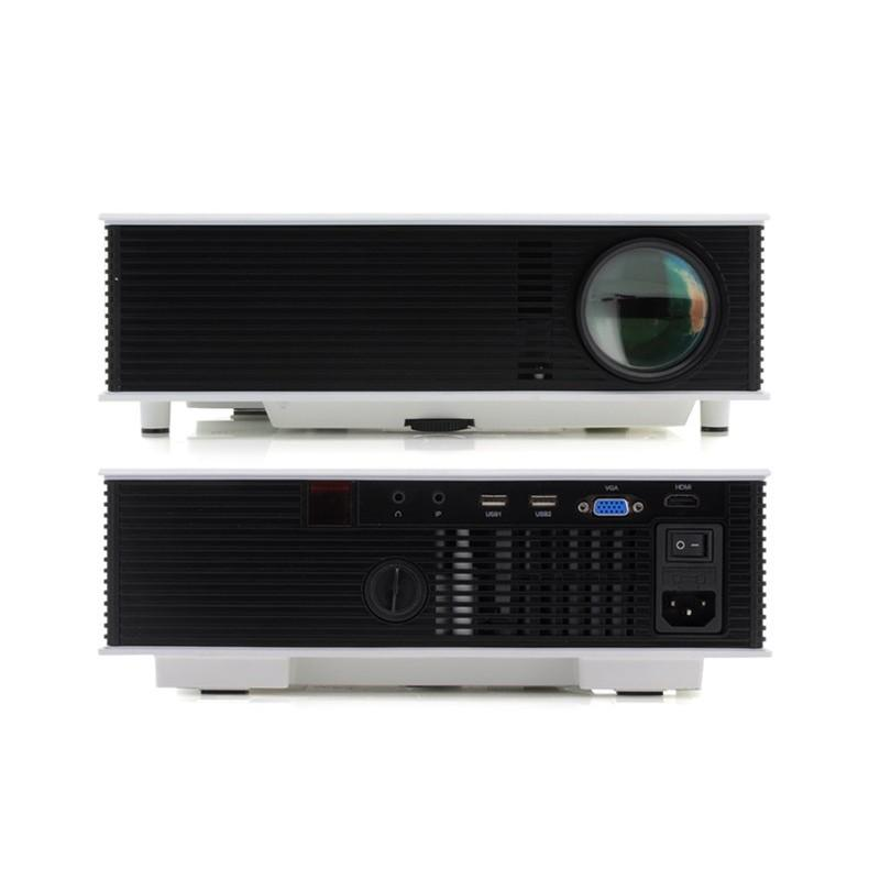 LED видео проектор Retro teck – TV-тюннер, 1500 ANSI-люмен, 700:1 контраст, HDMI, VGA, AV, 2x USB 190437