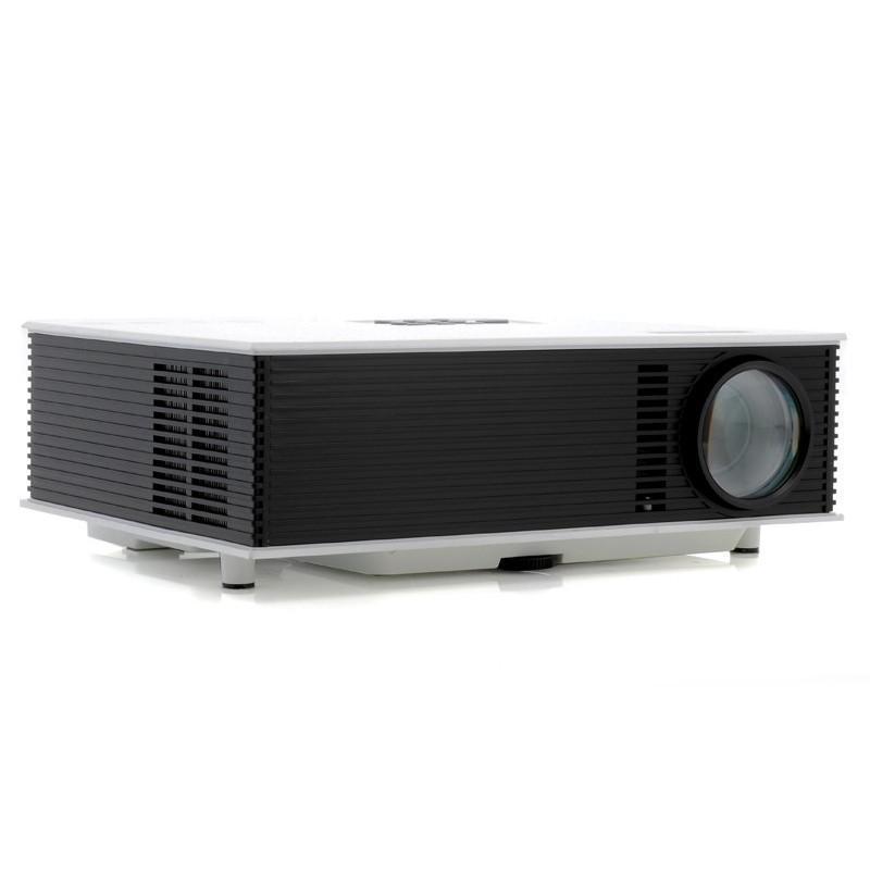 LED видео проектор Retro teck – TV-тюннер, 1500 ANSI-люмен, 700:1 контраст, HDMI, VGA, AV, 2x USB 190438