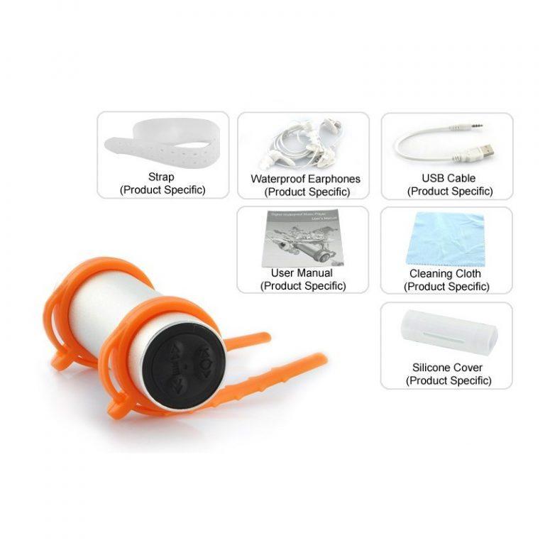 8974 - Водонепроницаемый (подводный) MP3-плеер Nau N36